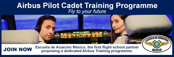 Escuela de Aviación México Página de Inicio
